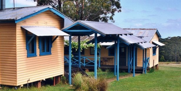 Accommodation self-contained Mount Royal Barrington Tops Callicoma Hill Eco Cabins