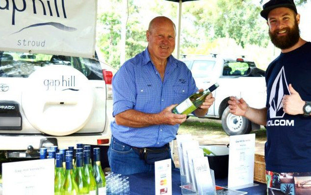 Gap Hill Wines at Gloucester Farmers Market